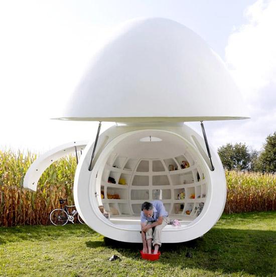 Cubex Keuken Nieuw : Egg House